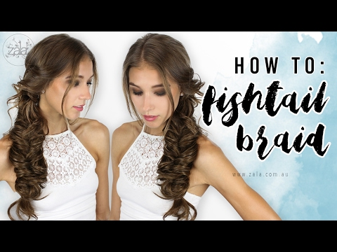 How To Fishtail Braid - Tape Hair Extensions | ZALA Hair