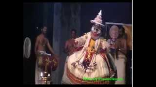 Kalyanasaugandhikam-Kathakali- Hanuman (Shri. Kalamandalam Soman)