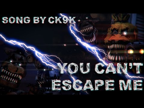 You Can't Escape Me By ChaoticCanineCulture (FNAF SFM -  Edited By Djebrayass)