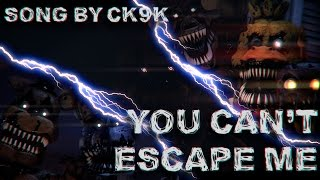 Скачать You Can T Escape Me By ChaoticCanineCulture FNAF SFM Edited By Djebrayass