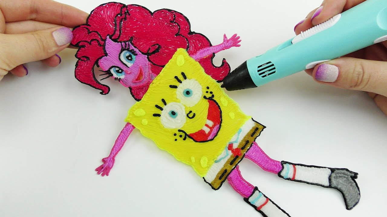 Pinkie Pie Halloween Costume | My Little Pony Pinkie Pie In Halloween Costume Sponge Bob Drawing