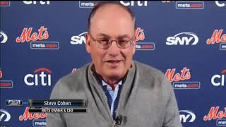 The new york mets owner steve cohen and team president sandy alderson speak to public for first time.news conference run down:0:00 introduction f...
