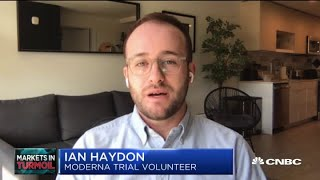 Coronavirus: Vaccine volunteer on Moderna's phase one trial