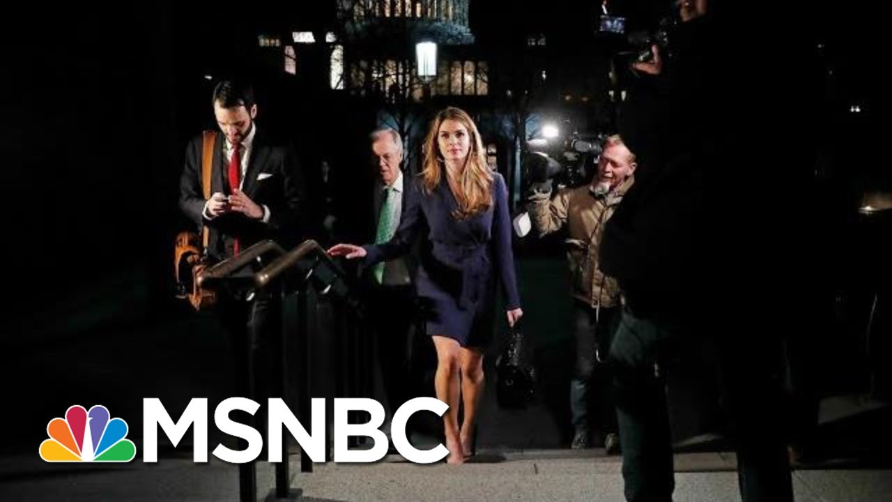 Hope Hicks Questioned on Episodes of Potential Obstruction by Trump