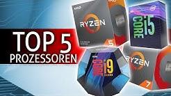 Der BESTE PROZESSOR 2020   TOP 5 Prozessor CPU Kaufberatung! [Q2 2020]