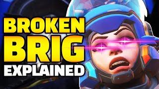 BROKEN Brig Explained! HUGE Brigitte Armor BUG! - Overwatch