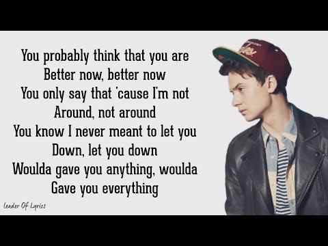 Post Malone - BETTER NOW | Conor Maynard & Anth Cover (Lyrics)