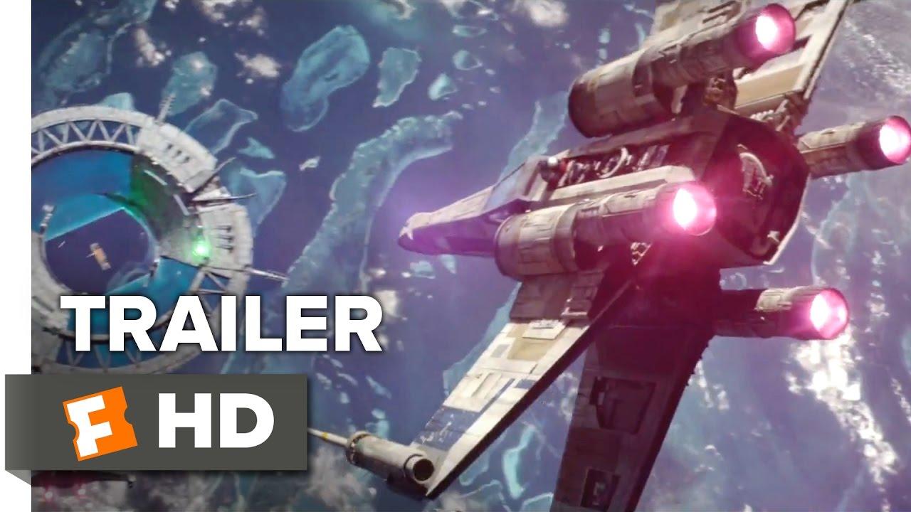 Rogue One: A Star Wars Story Official International Trailer 1 (2016) - Felicity Jones Movie
