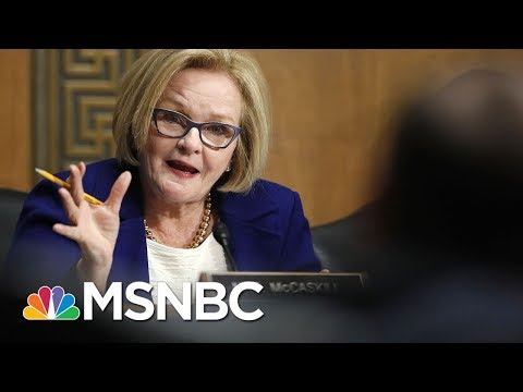 Claire McCaskill ID'd As First 2018 Target Of Russian Hackers: Report | Rachel Maddow | MSNBC