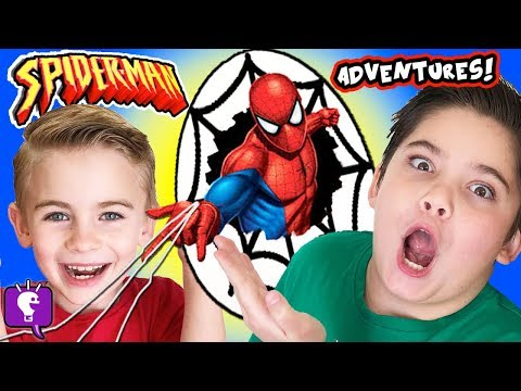 SPIDERMAN GIANT ADVENTURE! SKEE BALL, Cars + Kids Play Compi