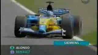 F1 2003 German gp highlights Itv commentary