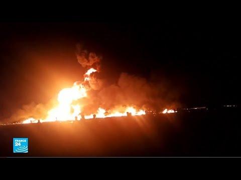 المكسيك: عشرات القتلى والجرحى في انفجار أنبوب نفطي