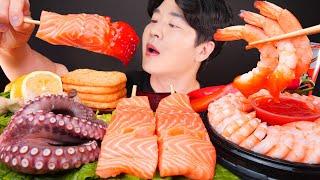 ASMR MUKBANG   인기있는 모듬 해산물 먹방 …
