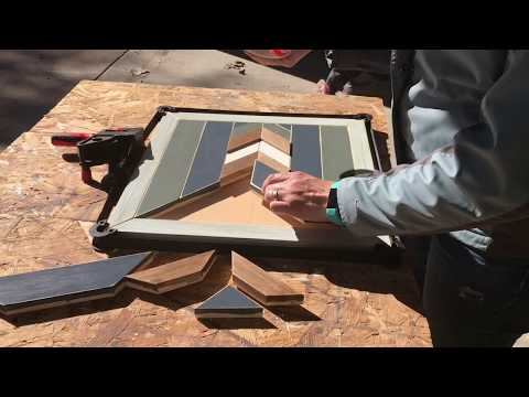 How to Glue DIY Woodworking Wall Art Pieces to Plywood