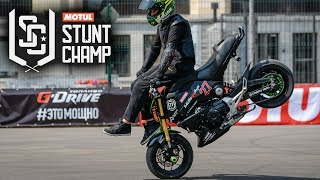 HONDA GROM - 13 y.o. Stunt Rider