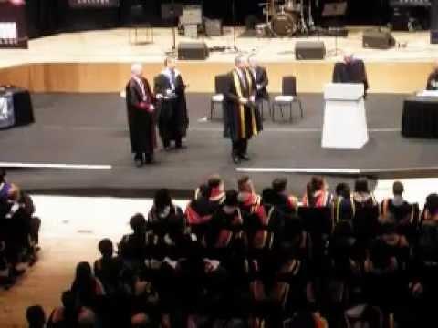 Louise graduating - royal concert hall