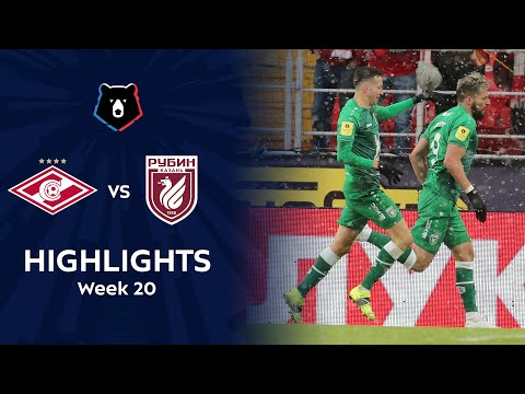 Spartak Moscow Rubin Kazan Goals And Highlights