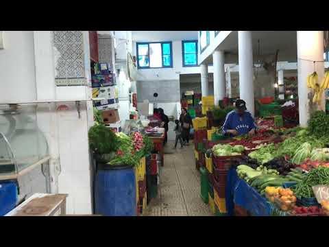 Tunisia-Tunis 6/7 Local Market