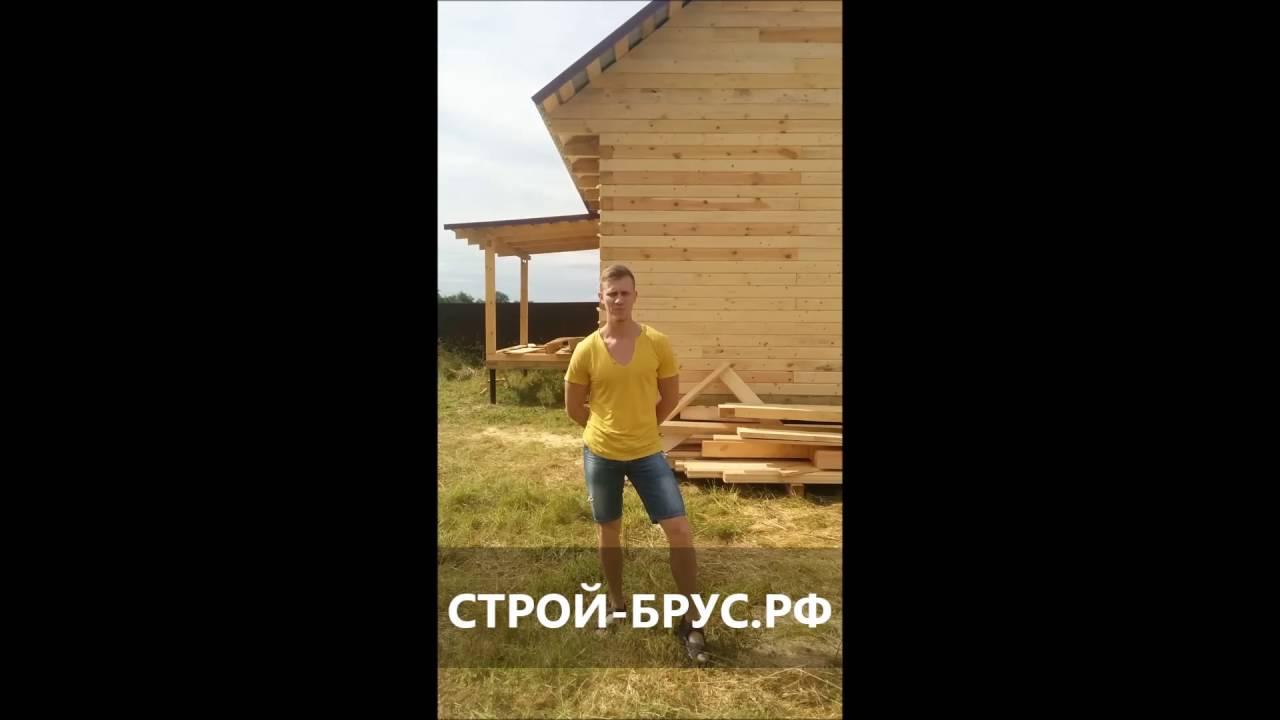 Брус Маркет»: на Урале наступил сезон сборки домов из .
