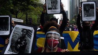 Protesto Antirracismo e a Favor da Democracia