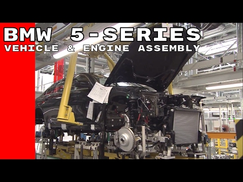 BMW 5-series Vehicle & Engine Assembly Factory in China
