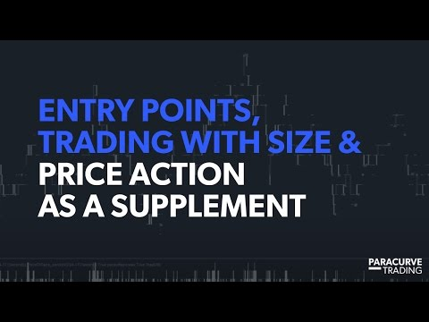 Entry Points, Trading with Size & Price Action / Support and Resistance as a Supplement
