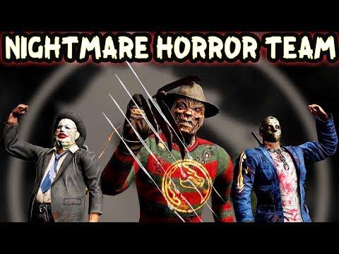 Mortal Kombat Mobile. FREDDY IS INSANE! Endless Nightmare. Horror Team!