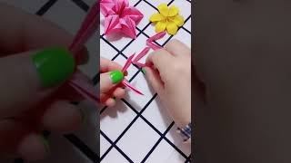 Origami Flower easy step by step