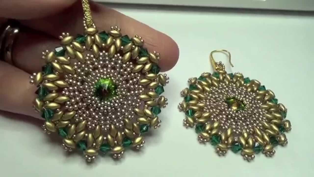 spesso I miei gioielli fatti a mano, swarovski, perline, superduo  TV58