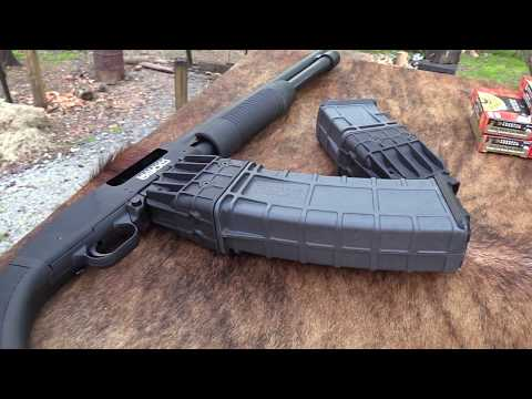 Mossberg 590M Big Game Hunt