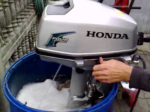 Honda 5 hp outboard motor 2011r four stroke 4 suw for Honda 4 stroke outboard motors