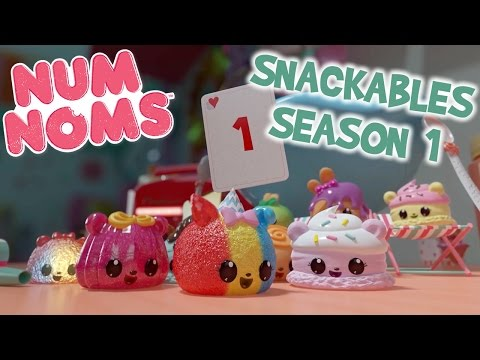 Num Noms | Snackables Compilation | Season 1