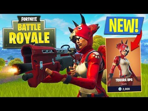 NEW UPDATE!! *LEGENDARY TRICERA OPS & LMG* // 15,000+ KILLS // 794+ WINS (Fortnite Battle Royale)