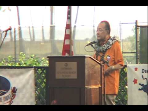 Clip From Live Broadcast of Democratic Party Coordinated Campaign Rally in Kona October 17th