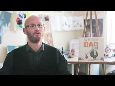 Author and Illustrator Fred Koehler discusses How To Cheer Up Dad