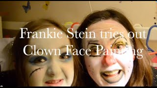 Face Painting Tutorial Clown by Frankie Stein Muuuu ha aha ah ha
