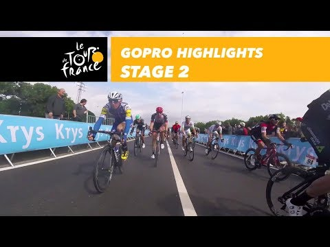 GoPro Highlights - Stage 2 - Tour de France 2017