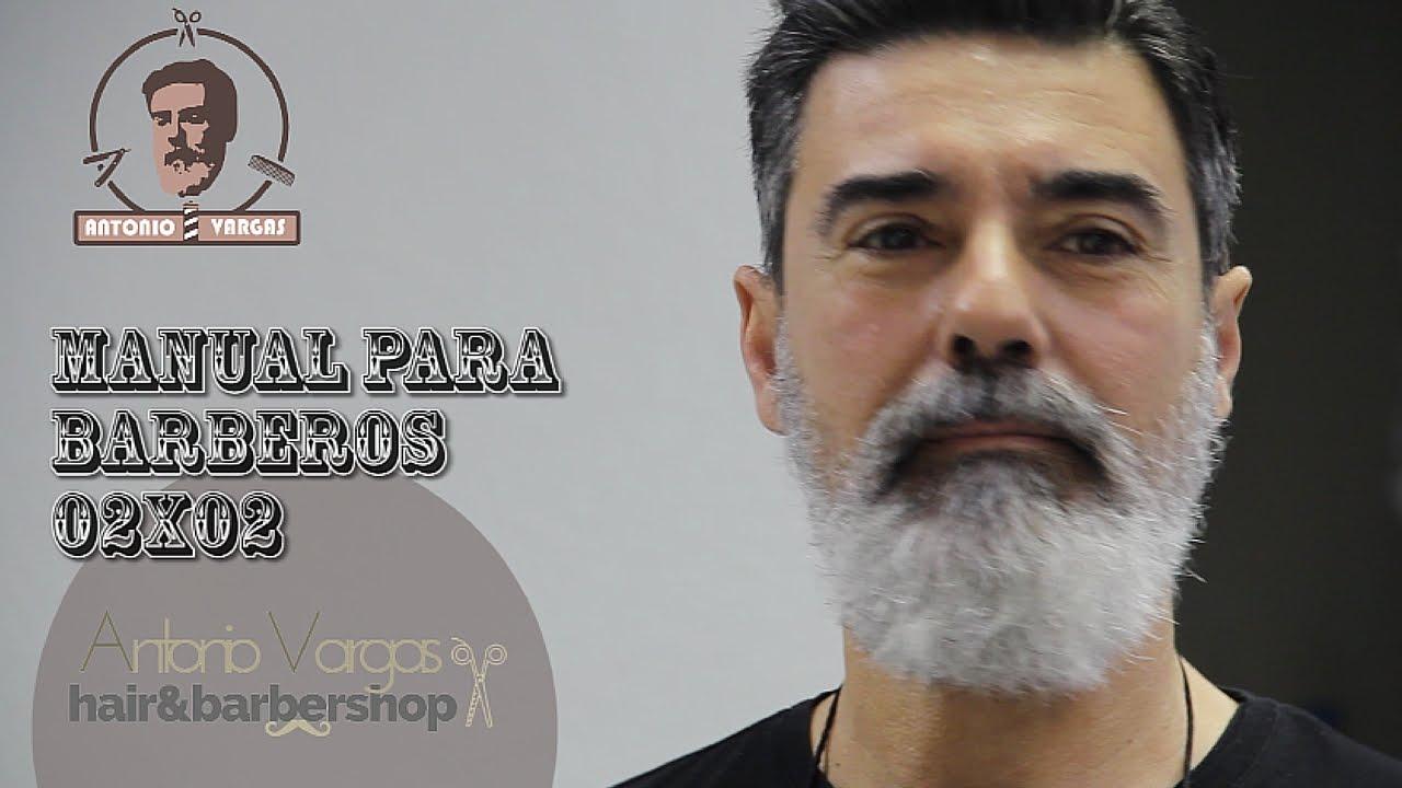Manual para Barberos 02x02 - Arreglo de barba larga y corte de pelo ... 77b93d869f35