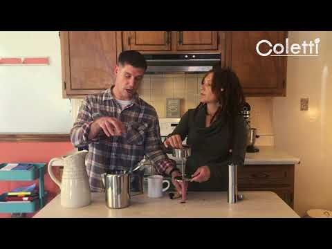 How to Make Coffee with a Percolator   The Coletti 'Bozeman'