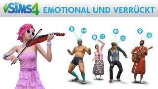 Die Sims 4: EMOTIONAL UND VERRÜCKT - Trailer