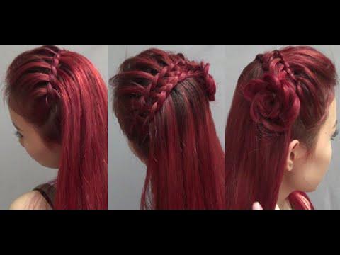 Hairstyles - 2 Kiểu Tết Tóc Công Chúa Đẹp Dịu Dàng
