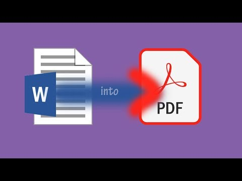 How To Convert Docx To PDF - 2 Ways