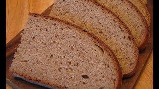 """Черный круглый хлеб """"Столичный"""""""