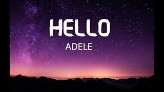 Adele - Hello Lyrics Video