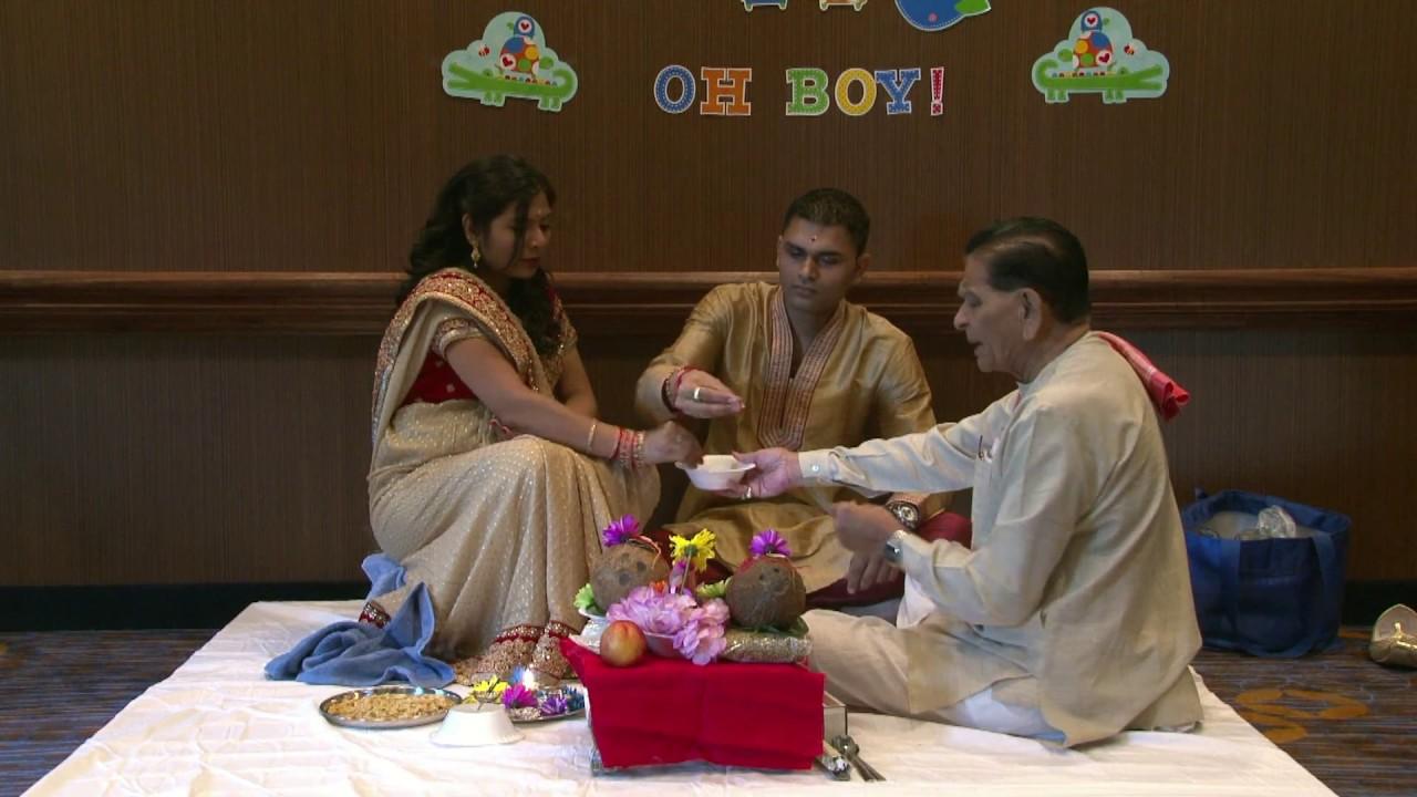 Vipra Kashyap Patel Baby Shower In Gastonia Nc Usa Youtube