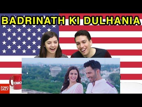 Badrinath Ki Dulhania Trailer • Fomo Daily Reacts