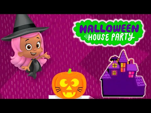 Halloween House Party   Bubble Guppies room 3  Blaze, Shimmer and Shine, Paw Patrol |