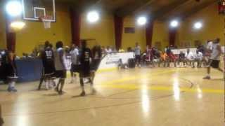 Kyrie Irving,Marcus Johnson, Darren Hill, Basketball Summer 2012
