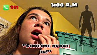 Someone Broke Into The House During Sleepover?//LIVE FOOTAGE
