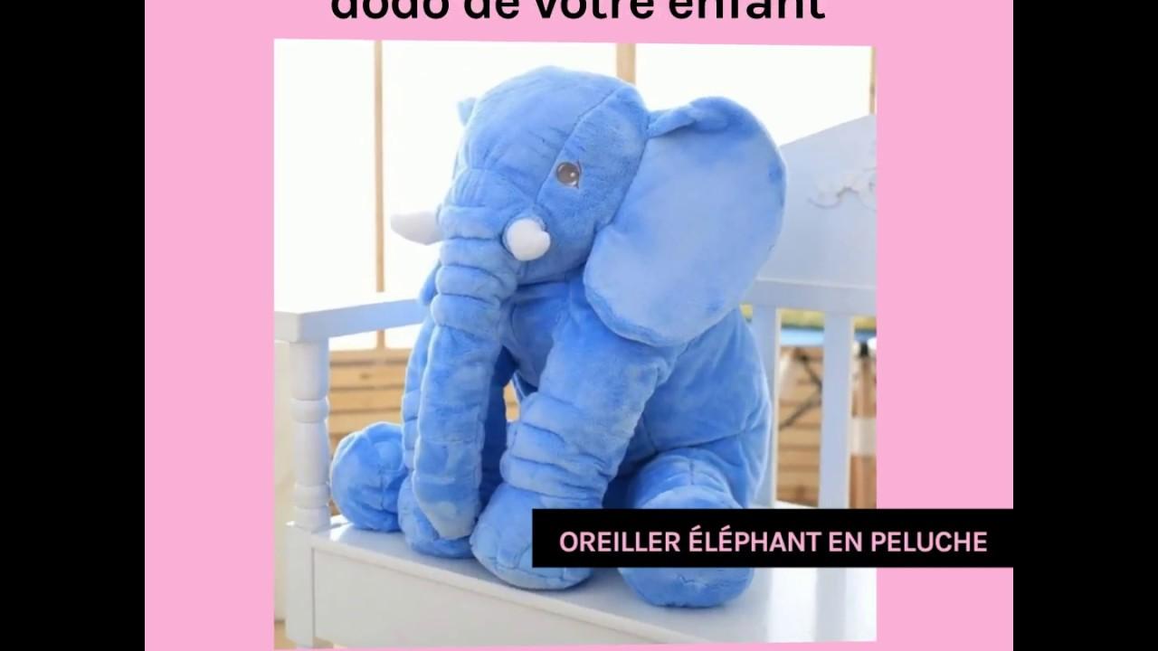 Violet sdtdia b/éb/é Peluche Douce /él/éphant Enfants Coussin Lombaire Jouet Grande Taille